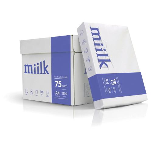 (1001100) 복사용지A4(miilk/75g/2500장/한국제지)