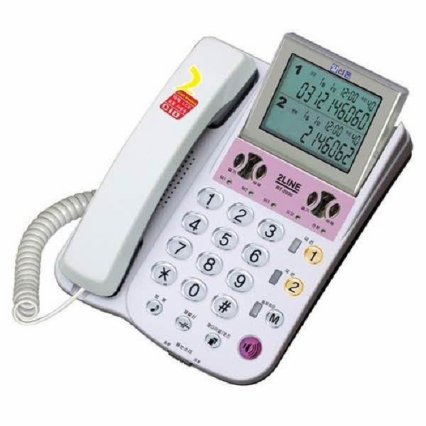 2라인 발신자 표시 전화기(RT-2000/알티폰)