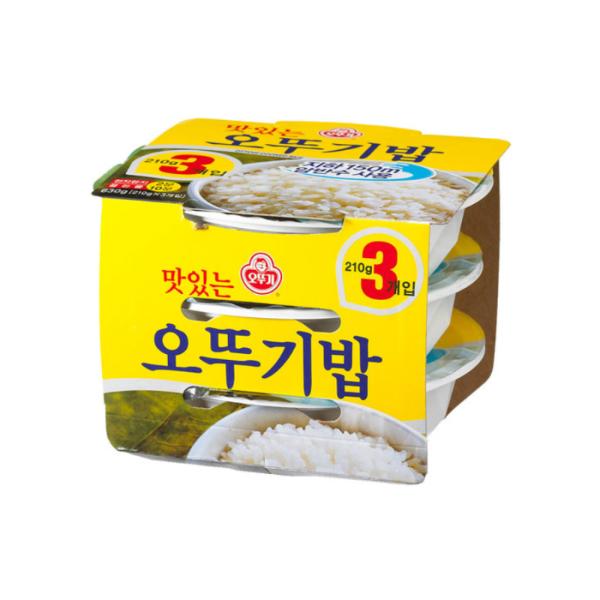 오뚜기밥 3묶음(630g)