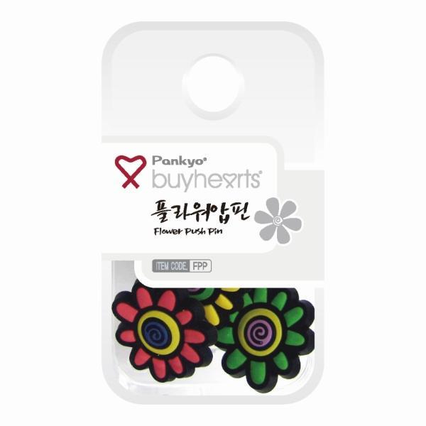바이하츠 플라워압핀(꽃 모양)