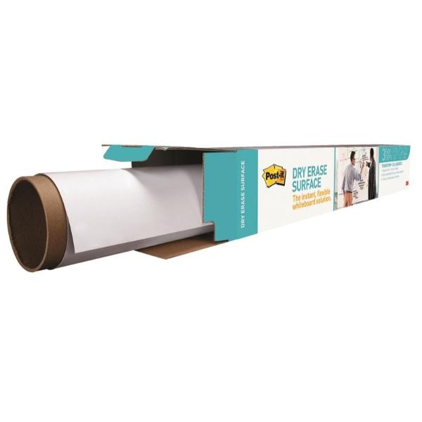 3M 포스트-잇® 화이트보드 롤타입 (DEF43) 0.914mx1.219mx1장(91.4 x 121.9 cm (1장X 1패드))