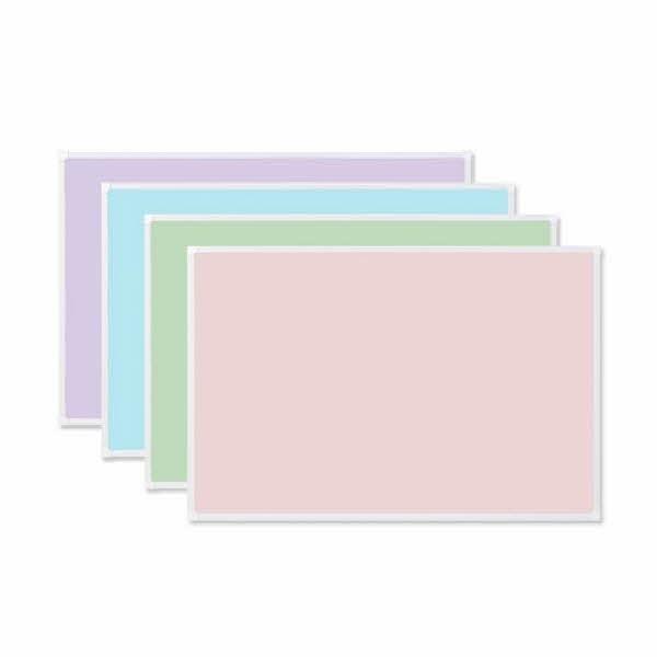 두문 더슬림 자석 칼라보드 470x345mm 핑크(470*343*10)