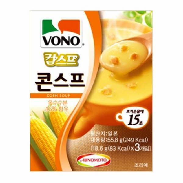 농심 VONO 콘스프(3개입)