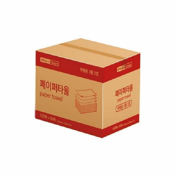 Office & Factory 페이퍼타올(5000매(100장x50속)/박스)