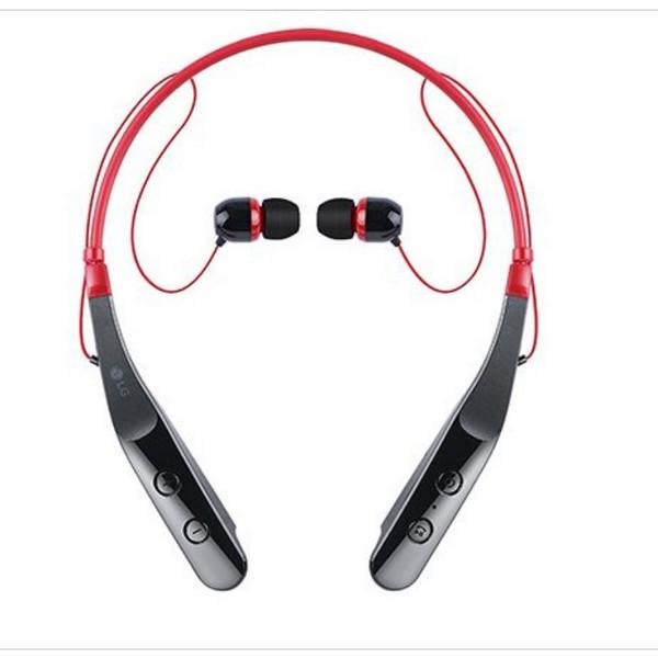 블루투스 이어폰 넥밴드형(HBS-510)/레드/LG)