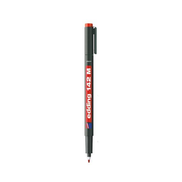 에딩 OHP마카 e-142(1.0mm 적색)
