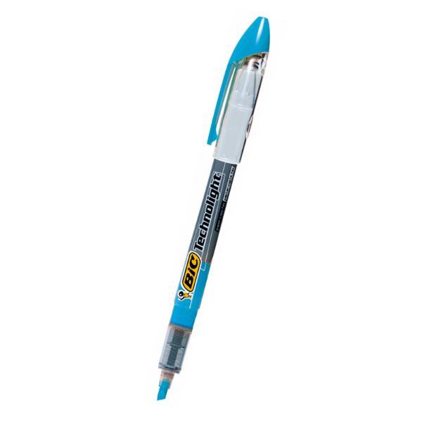 빅 테크노라이트형광펜 4.0mm 청색