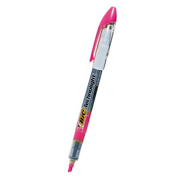 빅 테크노라이트형광펜 4.0mm 분홍