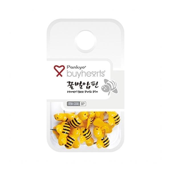 바이하츠 꿀벌압핀(12개입)