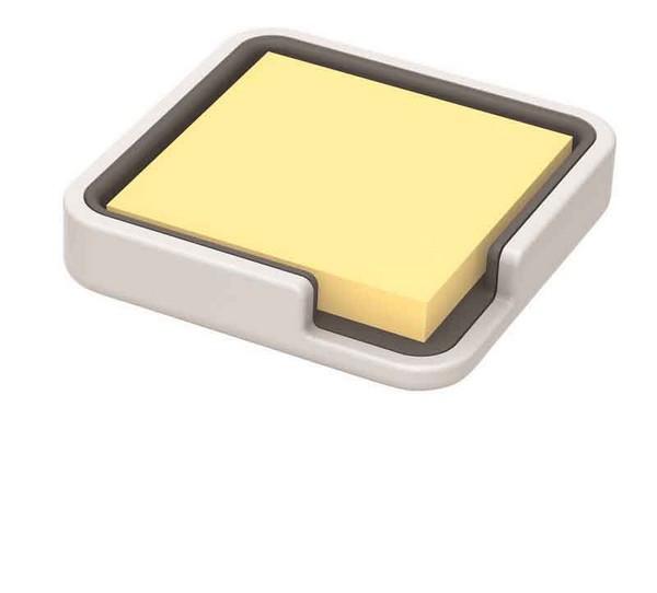 3M 포스트-잇® 엣지 홀더 화이트 (홀더, 1패드)(654 100매+홀더 백색)