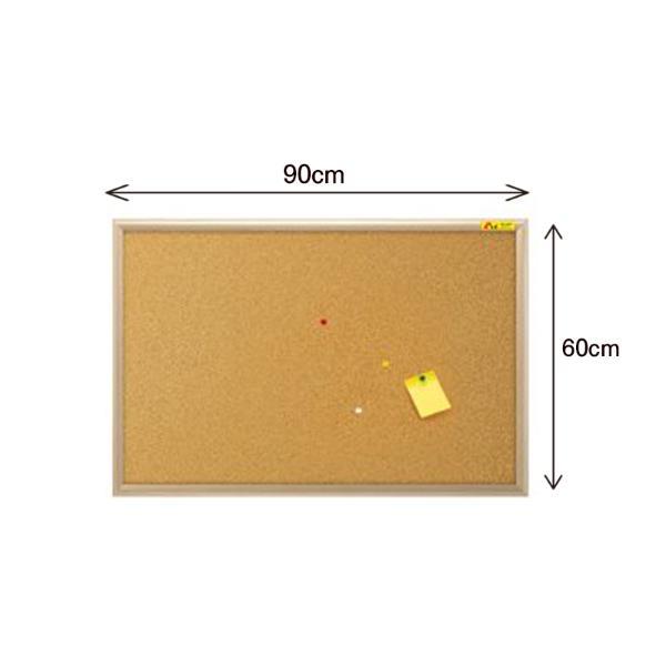 두문 콜크게시판(90x60cm/게시판)