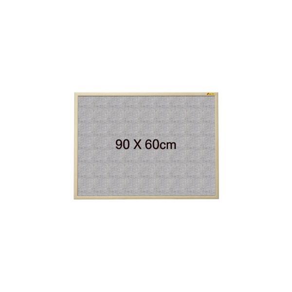 두문 패브릭게시판(90x60cm/페브릭보드)