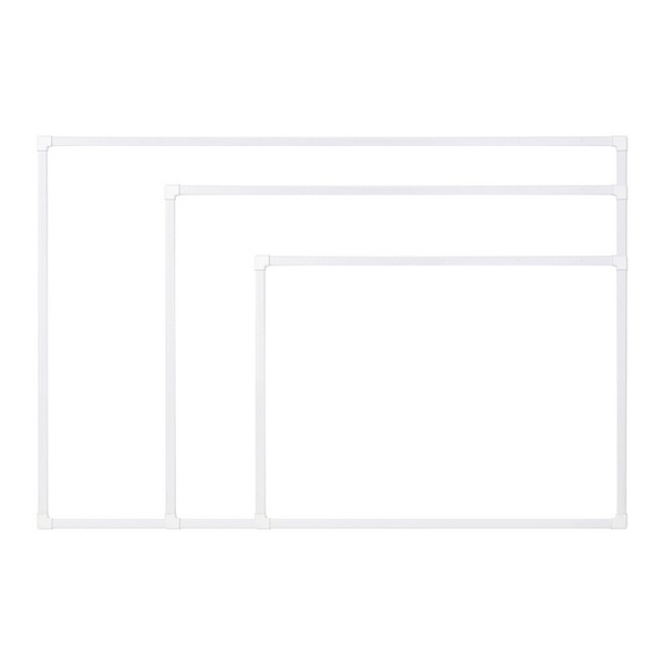 더슬림 자석보드 화이트 470x345mm