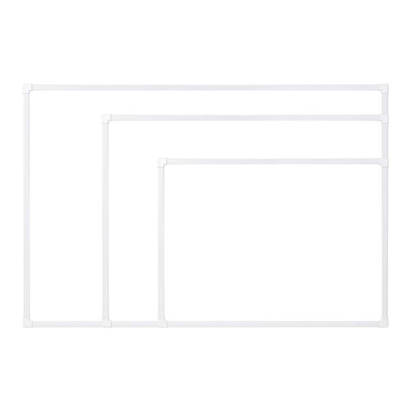더슬림 자석보드 화이트 600x400mm