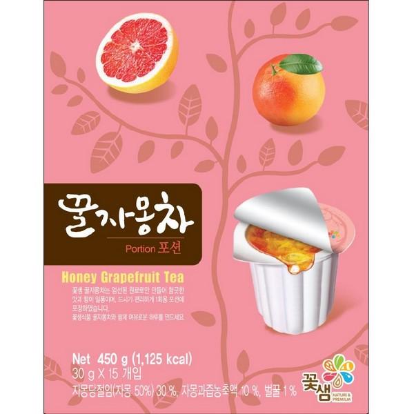 꽃샘(꿀자몽차/30gx15T)