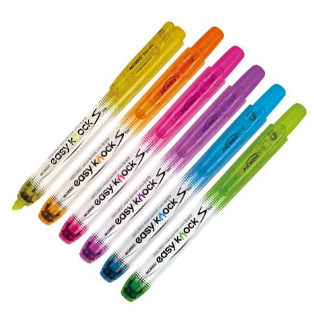저스트클릭 형광펜S 보라(3.5mm/모리스)