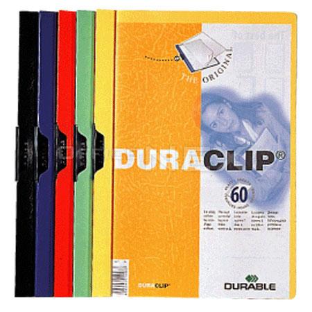 듀라블 투명크립화일(2209/A4/60매용/노랑)