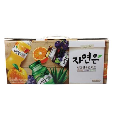 웅진 자연은혼합미니병(180mlX12개/BOX)
