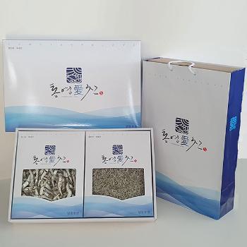 통영 참멸치4종 선물세트(대/중/소/세멸 각300g)