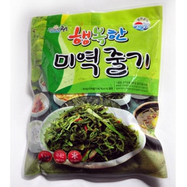 [대용량]행복한 완도바다 염장미역줄기5kg(1kgx5봉)